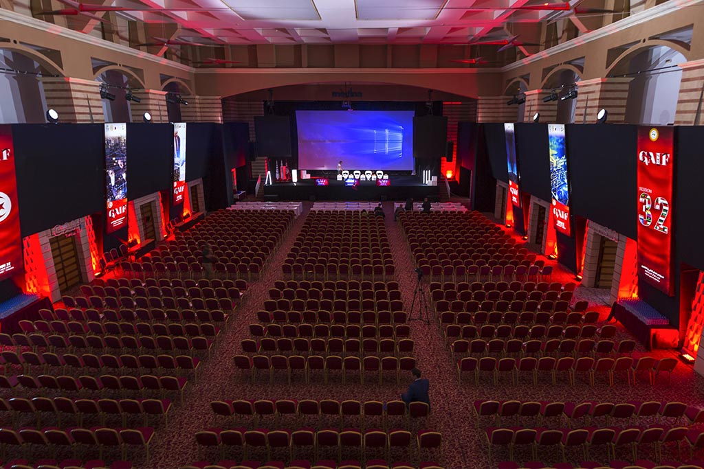 Medina Conference & Expo Center : event designer